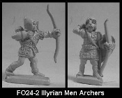 Illyrian Men Archers And Crossbowmen