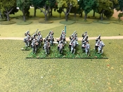 Prussian SYW Hussars In Mirlton