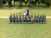 Prussian SYW Musketeers March Attack
