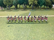 British Grenadiers With Command